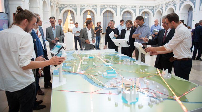 Ausstellung im Zentrum